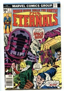 THE ETERNALS #7 1976 Marvel 1st THE ONE ABOVE ALL VF