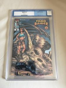 Tomb Raider #5 CGC 9.8 Dynamic Forces Alternate Cover Top Cow