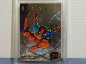 1995 Fleer Ultra Hunters & Stalkers #3 Deadpool Chromium Card - Graded NM-MT+