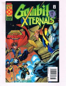 Gambit & The Xternals #4 VF Marvel Comics Age Of Apocalypse Comic Book DE16