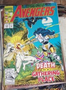 Avengers # 356 (Nov 1992, Marvel) black panther vision hercules