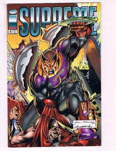 Supreme #4 VF Image Comics Comic Book 1993 DE19