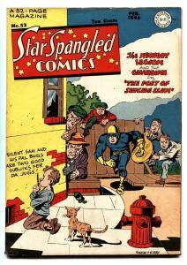 Star Spangled Comics #53 1946- SIMON AND KIRBY Liberty Belle- Golden Age comic