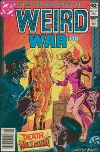 DC WEIRD WAR TALES (1971 Series) #82 VF/NM