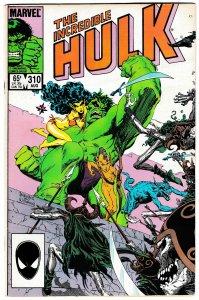 The Incredible Hulk #310 (Marvel, 1985) FN-
