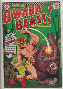 Showcase Comics #66 (Feb-67) VG+ Affordable-Grade B'Wana Beast