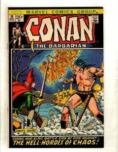 Conan The Barbarian # 15 VF/NM Marvel Comic Book Elric Red Sonja Kull King RS2
