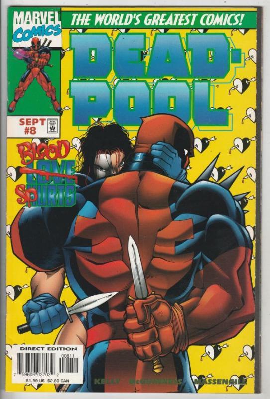 DEAD-POOL #8 (Aug-97) NM High-Grade Deadpool