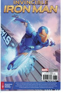 Invincible Iron Man 13 Cancer Benefit Variant 9.0 (our highest grade)