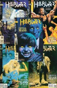 HELLBLAZER 92-96  Critical Mass 5-part story