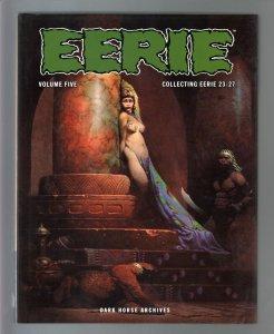 Eerie Archives-Vol.5-#23-27-Frank Frazetta-Hardcover-2010