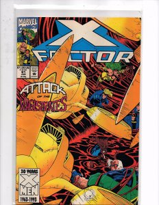 Marvel Comics X-Factor Vol. 1 #91 Peter David Story Joe Quesada Cover & Art