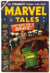 Marvel Tales #119 1953- Atlas Horror- Wild Ant Torture cover- electric chair VG