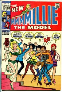 Millie The Model #170 1969-Marvel-camera cover-Chili appears-fashion page-FN