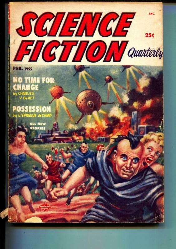Science Fiction Quarterly-Pulp-2/1955-Winston Marks