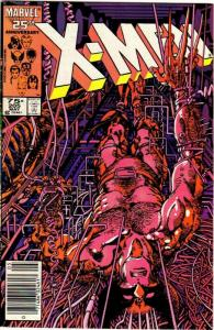 X MEN 205 VG-F BARRY SMITH WOLVERINE, May 1986 COMICS BOOK
