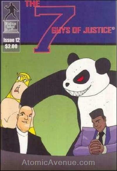 Seven Guys of Justice, The #12 VF/NM; False Idol | save on shipping - details in