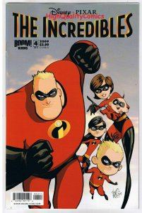 The INCREDIBLES #4, NM, Dash, Mirage, Movie, Syn, 2009, (b) Super Family