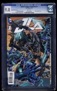 Justice League Of America (2015) #1 CGC NM/M 9.8 Gatefold Variant Cover!
