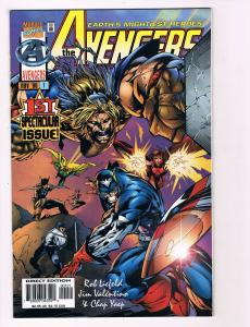 The Avengers # 1 Marvel Comic Books Awesome Issue Modern Age WOW!!!!!!!!!!!! S41