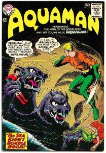 AQUAMAN #20 (March 1965) 9.0 VF/NM  • AQUAMAN, AQUALAD, & MERA! Nick Cardy!