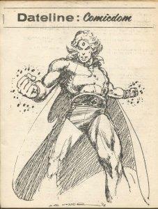 Dateline Comicdom #34 3/1977Mike Nasser-newsletter-comic collector info-FN