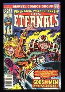 Eternals #6 NM- 9.2 1st Samuel Holden!