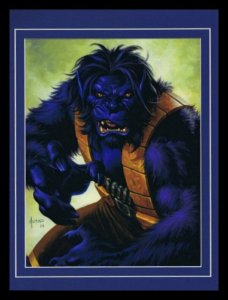 X Men Beast Framed 11x14 Marvel Masterpieces Poster Display