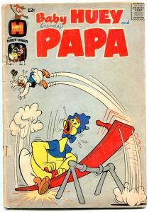 Baby Huey and Papa #3 1962- Harvey Humor comic G