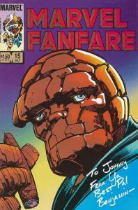 Marvel Fanfare #15 VF/NM; Marvel | save on shipping - details inside
