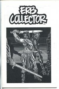 ERB Collector  #3 1990-Edgar Rice Burroughs fanzine-Tarzan-John Carter-FN