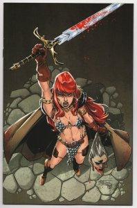 Red Sonja #27 Miracolo 1:10 Virgin Variant (Dynamite, 2021) VF/NM