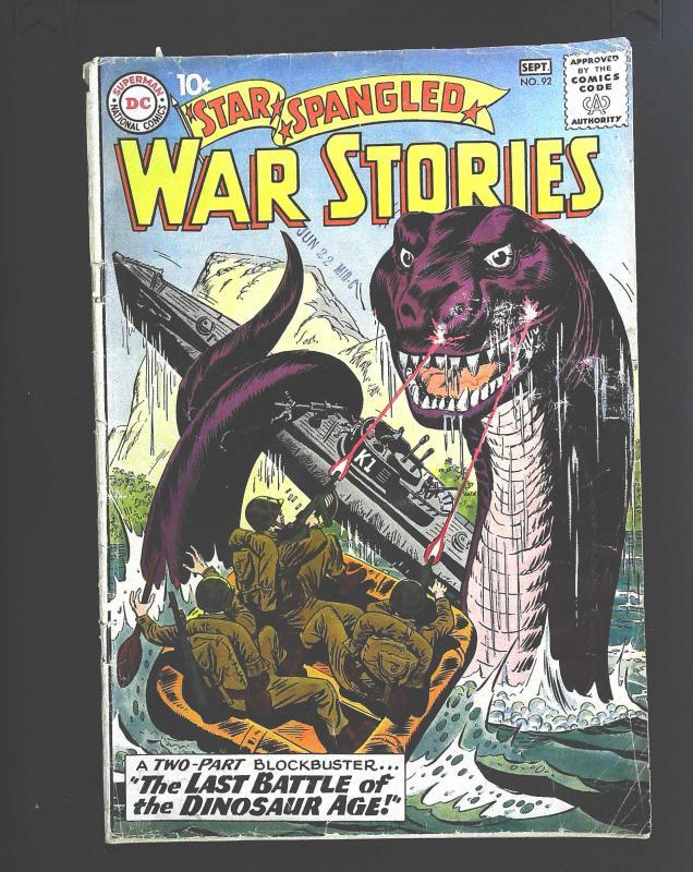 Star Spangled War Stories (1952 series) #92, VG (Actual scan)