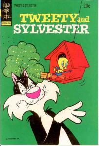 TWEETY & SYLVESTER (1963-1984 GK/WHIT) 32 VG-F Aug.1973 COMICS BOOK