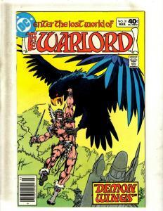 10 Warlord DC Comic Books #31 32 33 34 35 36 37 38 39 40 JF12