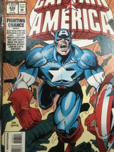 Marvel Captain America #426 Mint