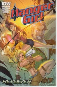Danger Girl: Revolver #2B VF/NM; IDW | save on shipping - details inside