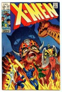 X-Men 51 Dec 1968 VF- (7.5)