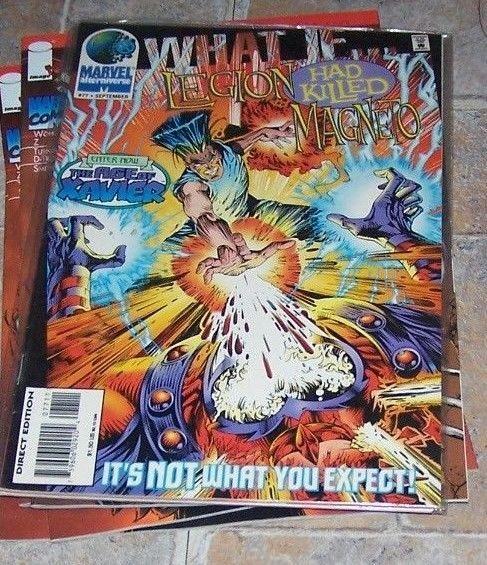 What If...? #77 (Sep 1995, Marvel) LEGION HAD KILLED MAGNETO ?  PHOENIX  AOA