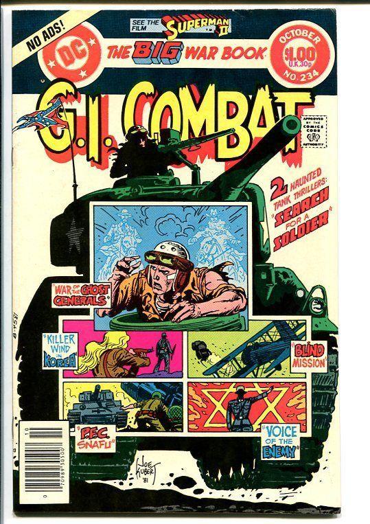 G.I. COMBAT #234-DC WAR-WWII ACTION VF