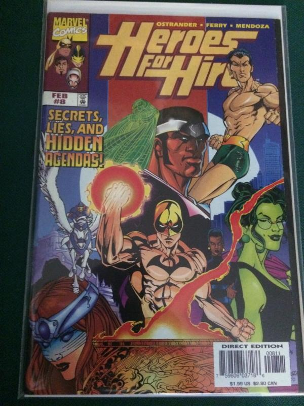 Heroes For Hire #8