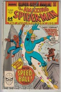 Amazing Spider-Man King-Size Annual #21 (Jan-87) NM Super-High-Grade Spider-Man