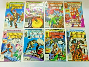 Indiana Jones Comic Lot From #1-34 30 Different Average 6.0 FN (1983-1986)