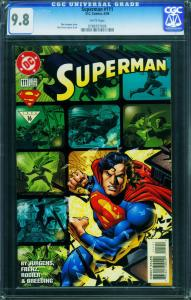 SUPERMAN #111 1996-HIGHEST CGC GRADED 9.8  0788707005