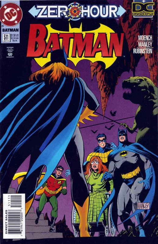 Batman #511 VF/NM; DC | save on shipping - details inside