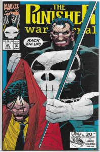 Punisher War Journal (vol. 1, 1988) #43 FN Raney/Mayerick, Romita Jr. cover
