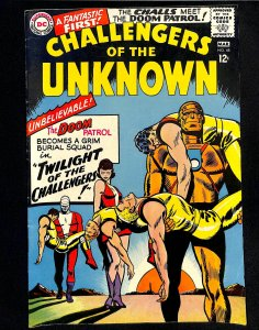 Challengers of the Unknown #48 (1966)