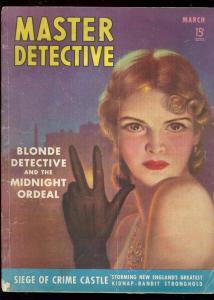 MASTER DET 3/1940-BOXING MURDER STORY-RARE G