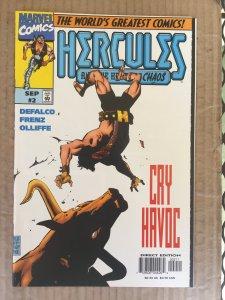 Hercules: Heart of Chaos #2 (1997)