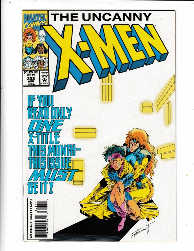 THE UNCANNY X-MEN#303 VF/FN   NO RESERVE Save on shipping